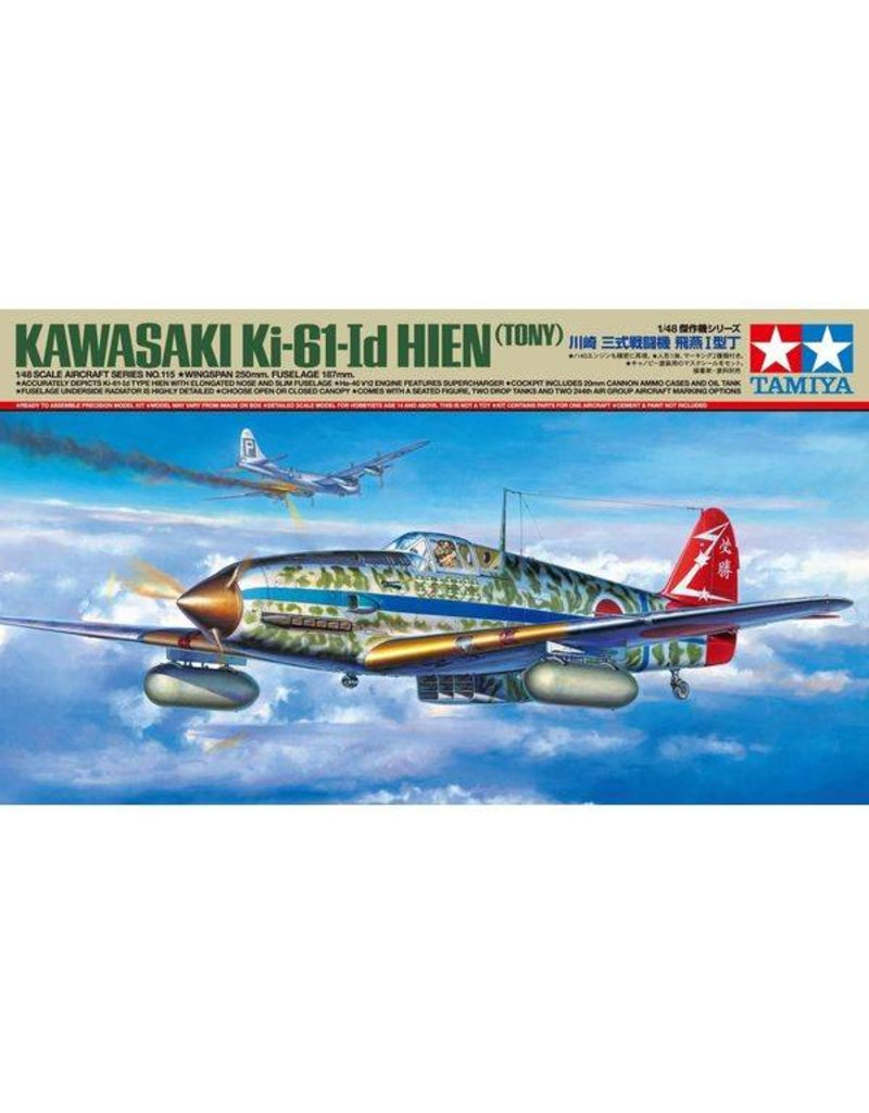 Tamiya 1:48 Jap. Ki-61-Id Hien (Tony