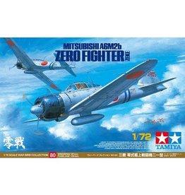Tamiya Tamiya 60780 1:72 WWII Mitsubishi A6M2b Ze