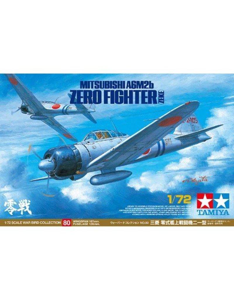 Tamiya 1:72 WWII Mitsubishi A6M2b Ze