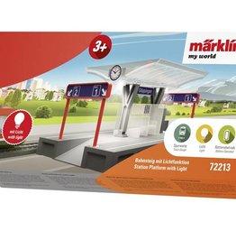 Märklin my world Märklin 72213 Bahnsteig mit Lichtfunktion