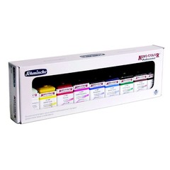 Schmincke Aero Color airbrush paintset with 9 colours