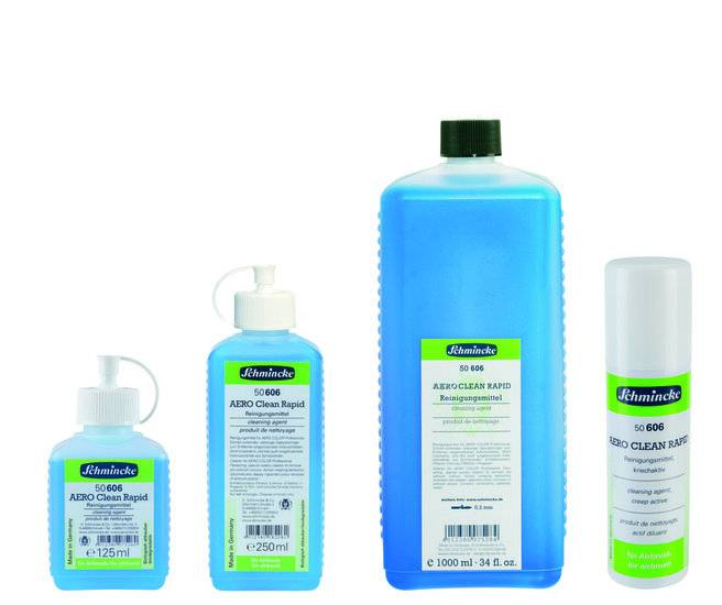 Schmincke AeroClean Rapid 250 ml airbrush cleaner