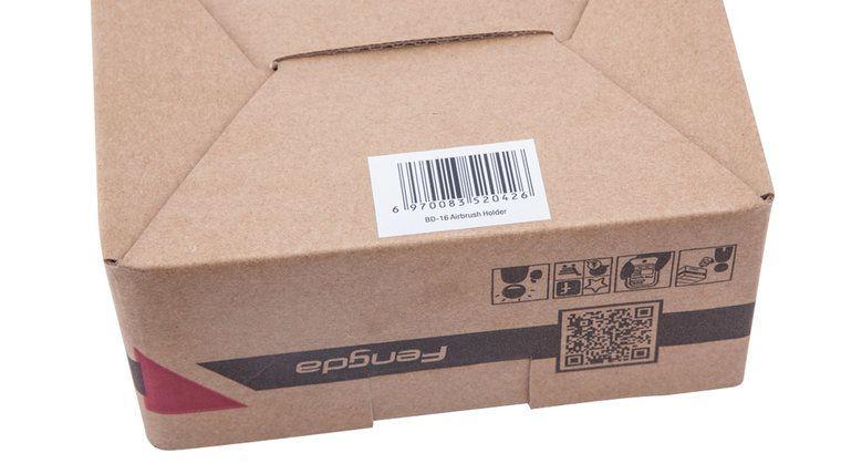 Fengda Airbrushhouder Tafelmodel BD-16 Fengda voor max. 4 airbrushpistolen