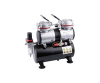 Fengda Airbrush mini compressor met luchttank Fengda AS-196