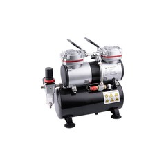 Airbrush mini compressor met luchttank Fengda AS-196