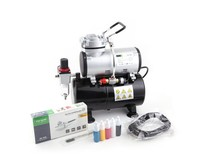 Fengda Airbrush Set Fengda AS-186K with compressor AS-186, Airbrush BD-130 and accessories