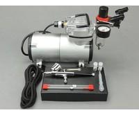 Fengda Fengda Airbrush set mit 130K Airbrushpistole / Airbrush Kompressor