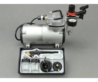 Fengda Fengda airbrush set met BD-138 airbrush pistool en airbrush compressor.