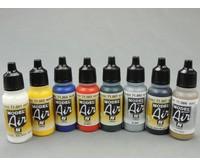 Fengda Fengda Airbrush set mit BD-138 Airbrushpistole / Airbrush Kompressor und Vallejo Airbrush Farben.