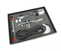 Fengda Airbrush gun set Fengda BD-182K with 0,3-0,5-0,8 mm nozzle