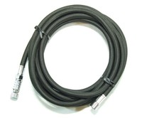 Fengda Airbrush hose black with quick coupler Fengda BD-30  3m - G1/8-G1/8