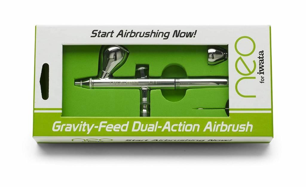 Iwata Iwata NEO CN Airbrush pistool. Gravity feed / Double action