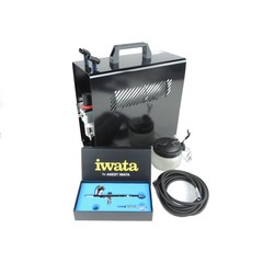 Iwata HP-CP HI Performance Plus Airbrush Compressor Kit