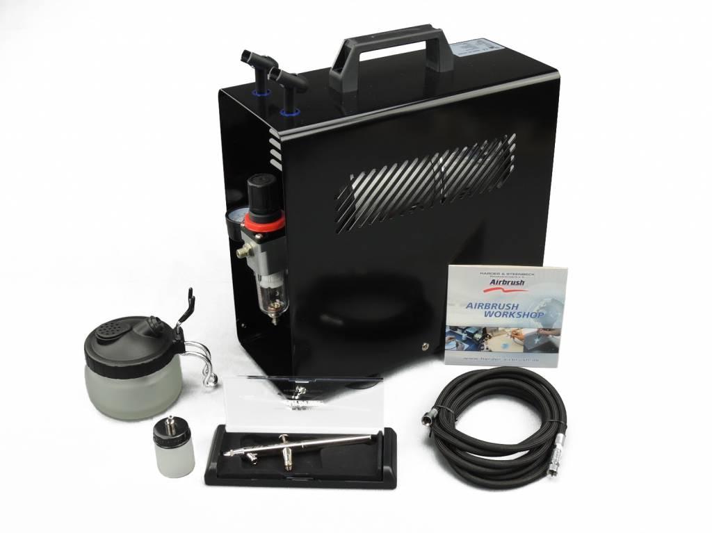 Harder & Steenbeck Harder & Steenbeck set Airbrush Ultra X 0,4mm