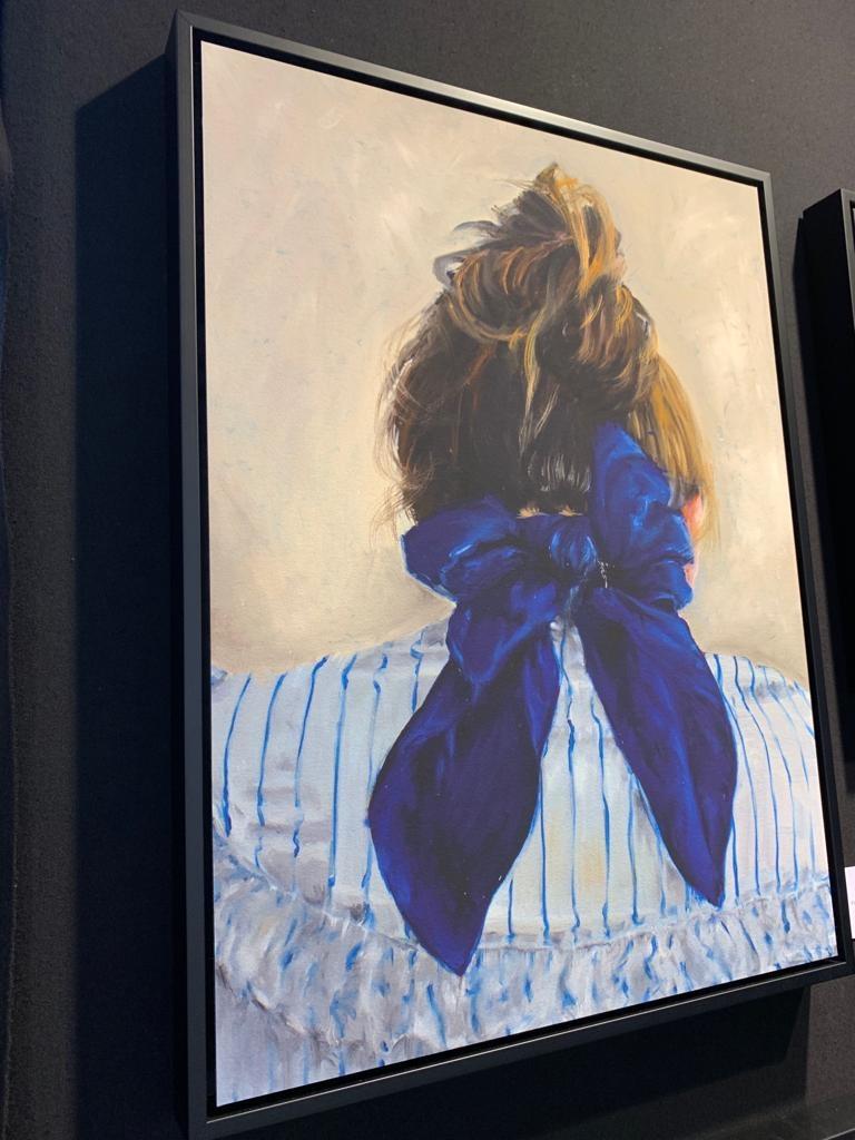 Katrien Kermans Blue scarf