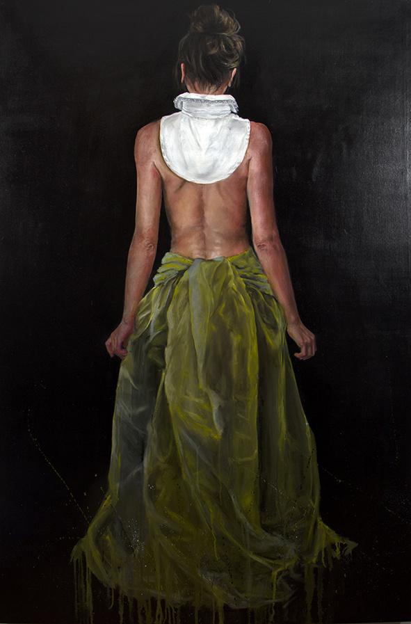 Katrien Kermans White Collar 2.0 (VENDU)