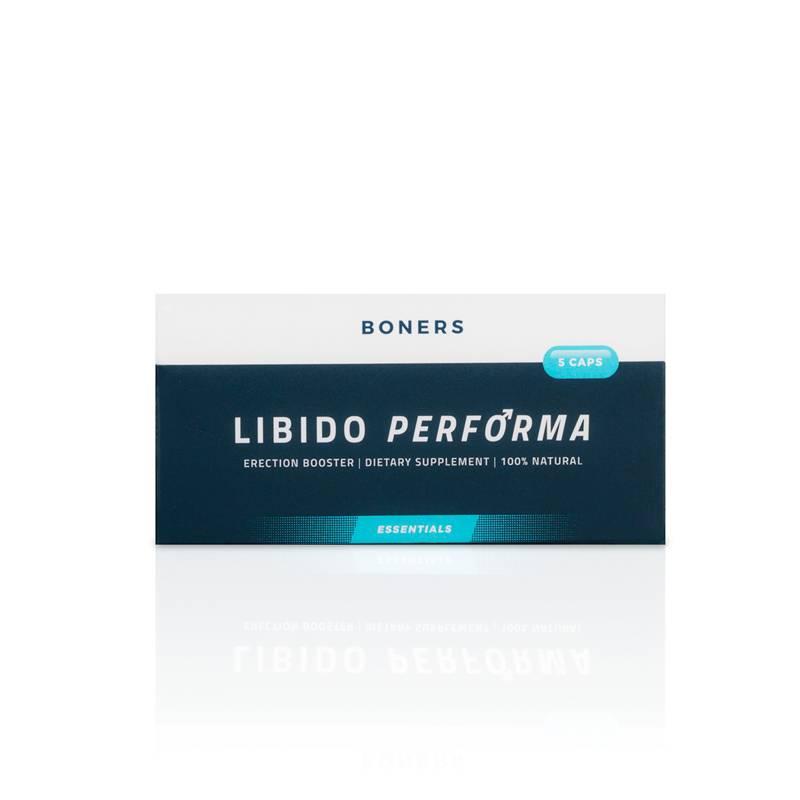 Boners Libido Performa Erectiepillen  5 Stuks