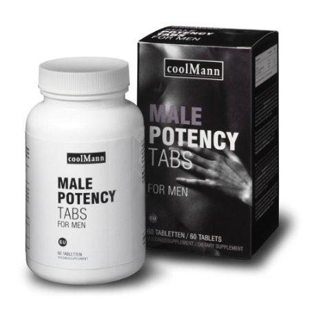 Coolmann Male potency tabs 60 stuks