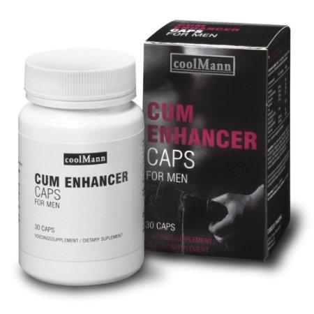 Coolmann Cum Enhancer Caps 30 stuks