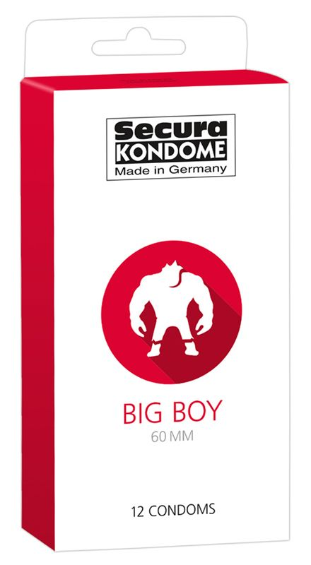 Secura Kondome Big Boy Condooms - 12 Stuks
