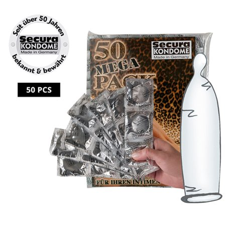 Secura Kondome Secura Heavy rubber 50 stuks
