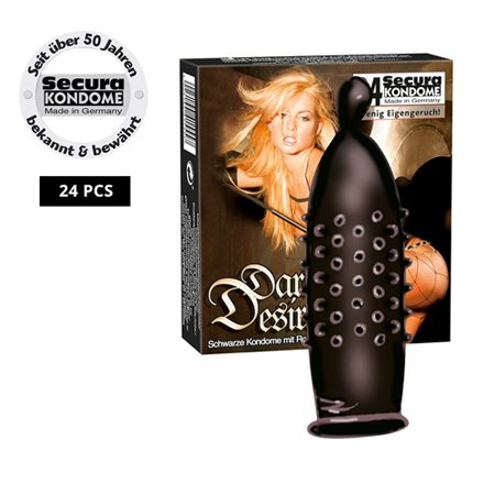Secura Kondome Secura Dark Desire 24er