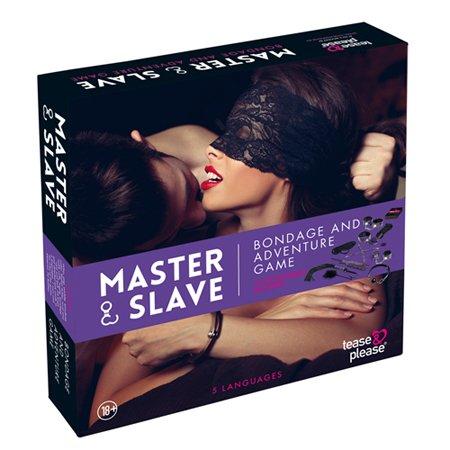 Tease & Please Master & Slave Bondagespel - Paars