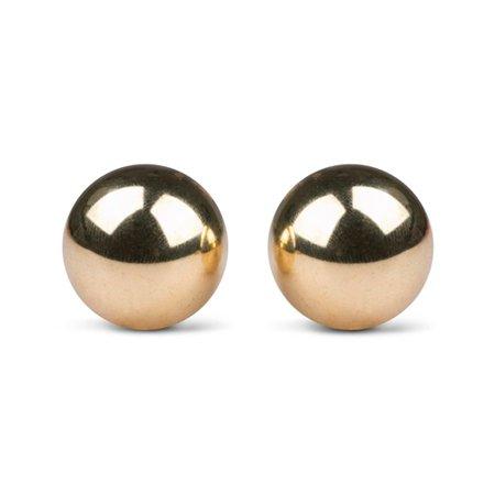 Easytoys Geisha Collection Ben Wa Ballen 22mm - Goudkleurig
