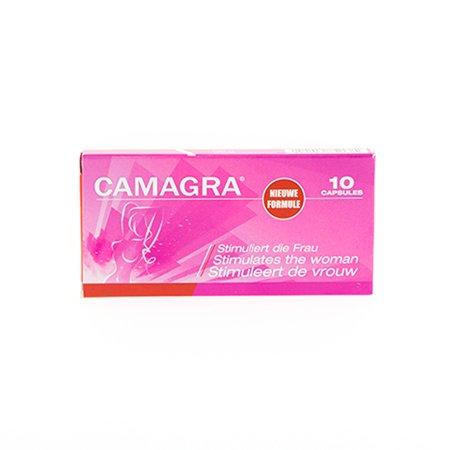 Voedingssupplementen Camagra vrouw 10 tabletten