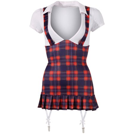 Cotteli Collection Sexy schoolmeisje outfit