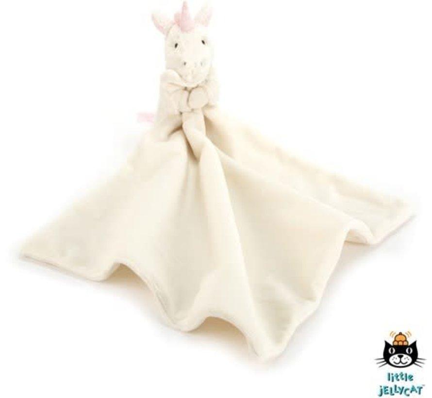 JELLYCAT Bashfull unicorn kroeldoekje