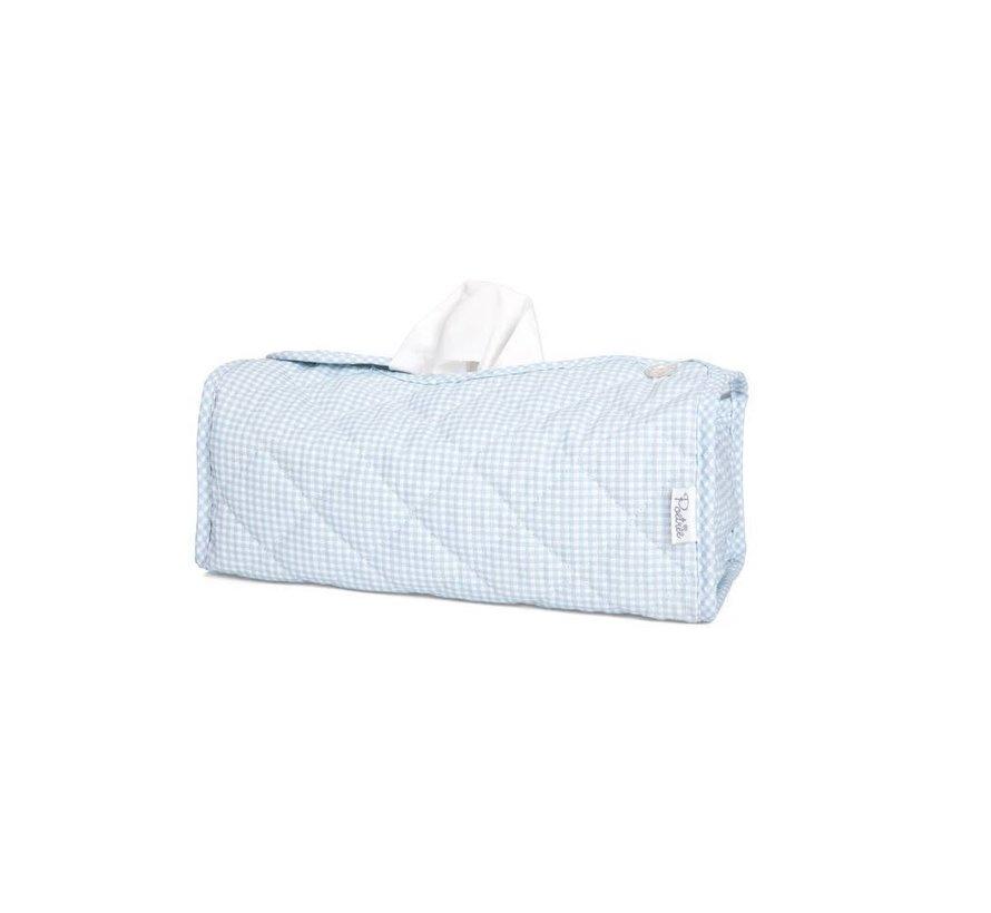 POETREE TISSUE BOX OXFORD BLUE
