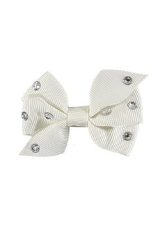 ANGELS FACE ANGELS FACE HAARCLIP DIAMANT BOW WHITE