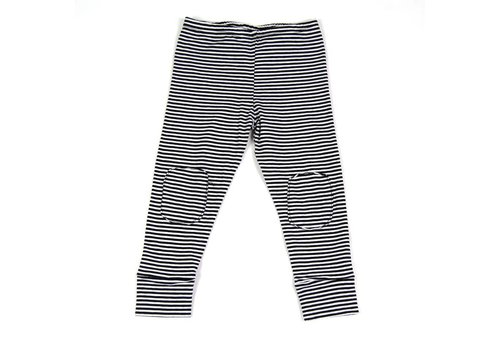 Mingo Mingo Legging b/w stripes