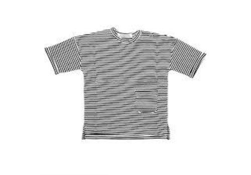 Mingo Mingo T-shirt b/w stripes