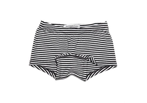 Mingo Mingo Girls boxer b/w stripes