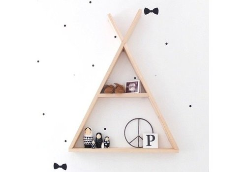 Rock that Label Rock that label tipi shelf