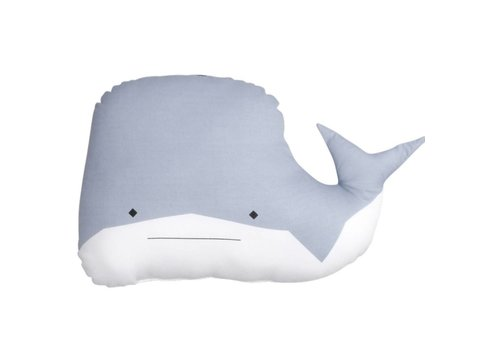 Fabelab Fabelab Animal Cushion - Whale