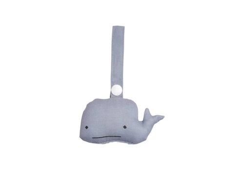 Fabelab Fabelab Animal Rattle - Whale
