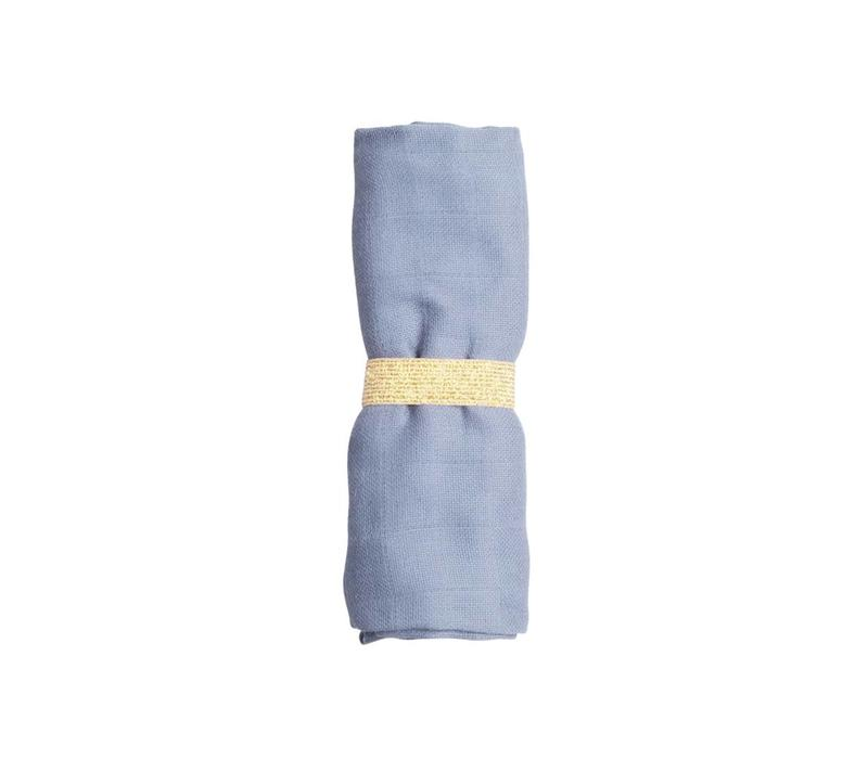 Fabelab Muslin Cloth - Marina Blue