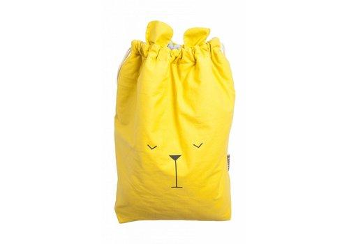 Fabelab Fabelab Canvas Storage Bag - Lazy Bear