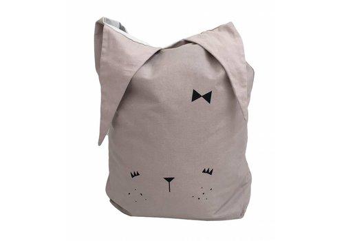 Fabelab Fabelab Canvas Storage Bag - Cute Bunny