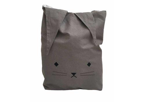 Fabelab Fabelab Canvas Storage Bag - Cuddly Cat