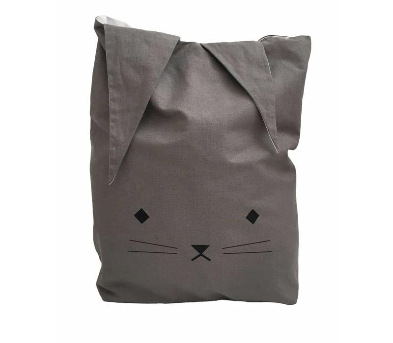 Fabelab Canvas Storage Bag - Cuddly Cat