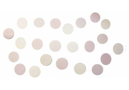 Fabelab Fabelab Circle Garland - Blush