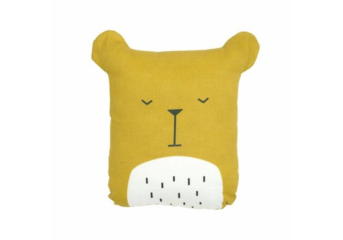 Fabelab Fabelab Animal Cushion - Lazy Bear