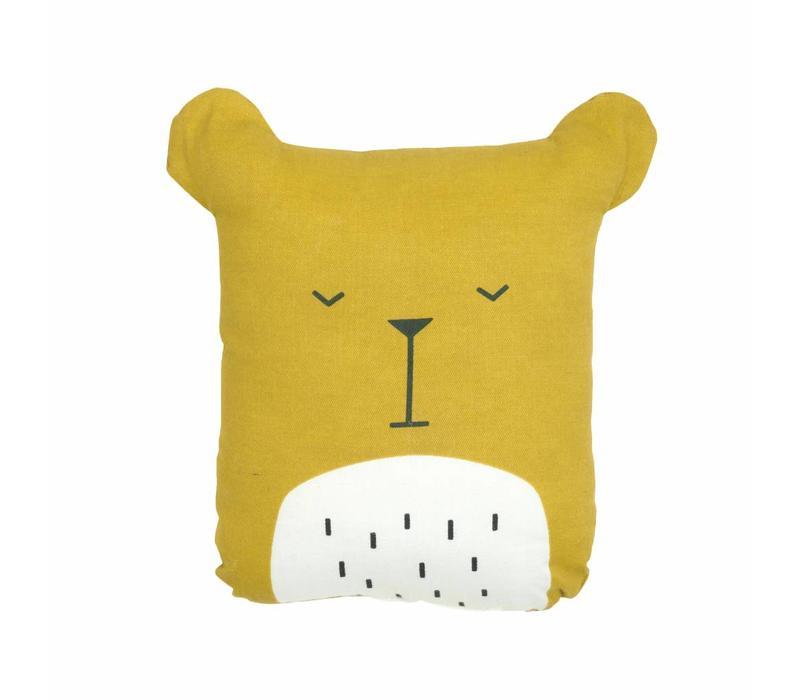 Fabelab Animal Cushion - Lazy Bear