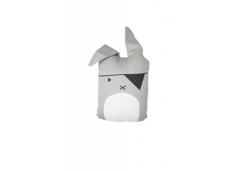 Fabelab Fabelab Animal Cushion - Pirate Bunny