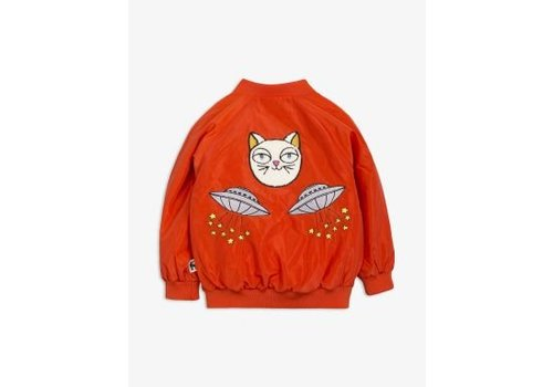 Mini Rodini Mini rodini Baseball jacket space cat