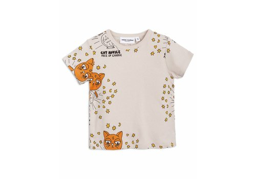 Mini Rodini Mini rodini T-shirt cat advise